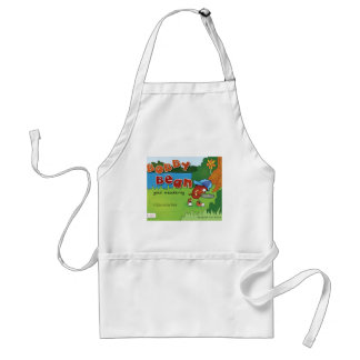 Bobby Bean Book Cover Apron