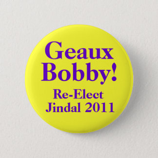 Bobby Jindal 2011 2 Inch Round Button
