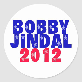 Bobby Jindal Classic Round Sticker