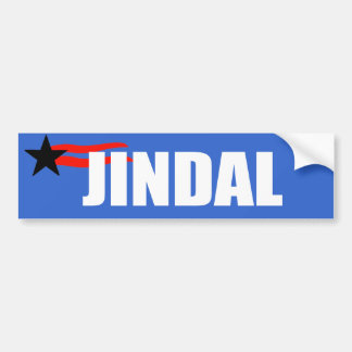 BOBBY JINDAL Election Gear Bumper Sticker