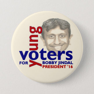 Bobby Jindal for President 2016 3 Inch Round Button