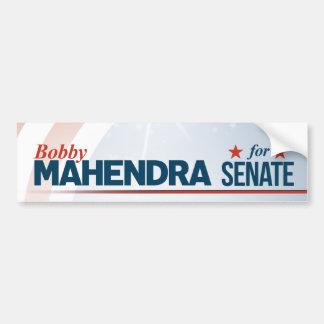 Bobby Mahendra for Senate Bumper Sticker