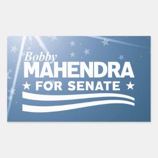 Bobby Mahendra for Senate Sticker