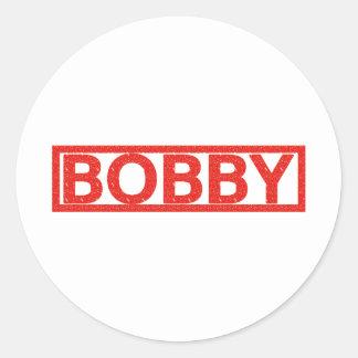 Bobby Stamp Classic Round Sticker