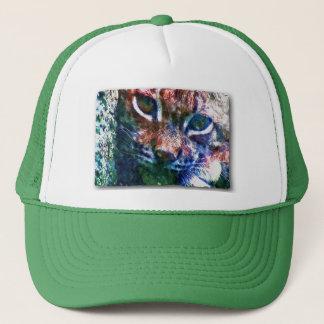 BOBCAT - Digitally Artwork Jean Louis Glineur Trucker Hat