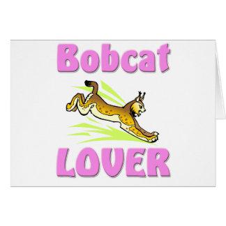 Bobcat Lover Card