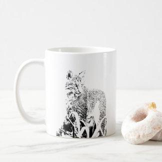 Bobcat Portrait Mug