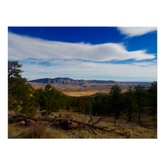 Bobcat Ridge Colorado Poster