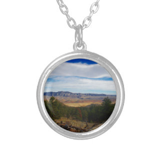 Bobcat Ridge Colorado Silver Plated Necklace