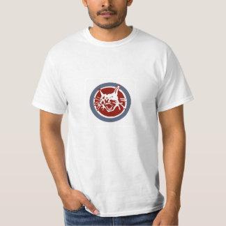 Bobcat T-shirt (RAF colours)