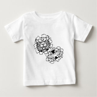 Bobcat Wildcat Esports Gamer Mascot Baby T-Shirt