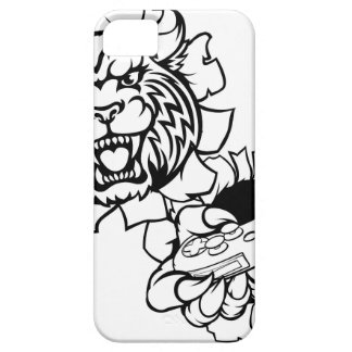 Bobcat Wildcat Esports Gamer Mascot iPhone 5 Case