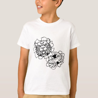 Bobcat Wildcat Esports Gamer Mascot T-Shirt