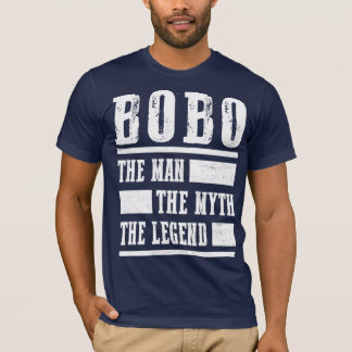 Bobo The Man The Myth The Legend T-Shirt