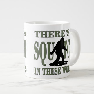 Bobo - There's a SQUATCH in these Woods Large Coffee Mug