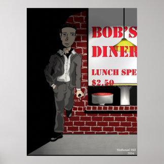 Bob's Diner Poster