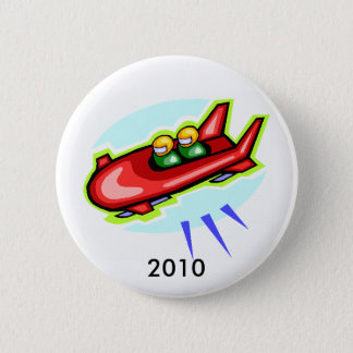bobsled, 2010 2 inch round button