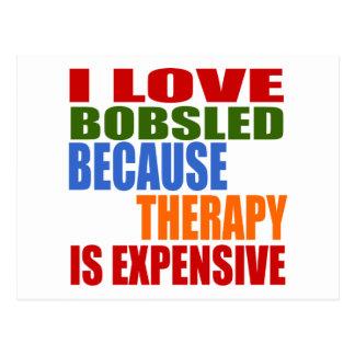 Bobsled Designs Postcard