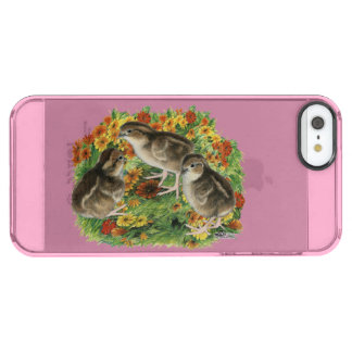 Bobwhite Garden Chicks Clear iPhone SE/5/5s Case