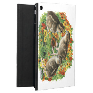Bobwhite Garden Chicks Cover For iPad Air