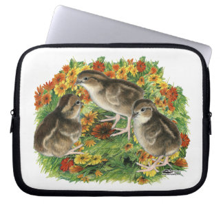 Bobwhite Garden Chicks Laptop Sleeve