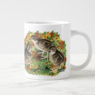 Bobwhite Garden Chicks Large Coffee Mug