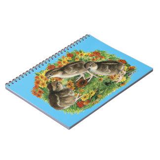 Bobwhite Garden Chicks Notebooks