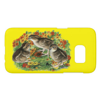Bobwhite Garden Chicks Samsung Galaxy S7 Case