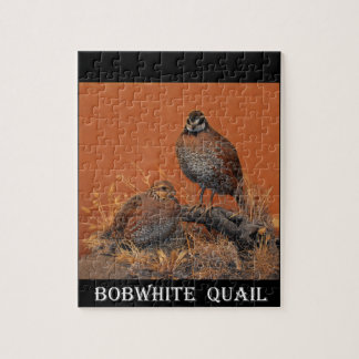 Bobwhite Quail (Georgia, Missouri and Tennessee) Jigsaw Puzzle