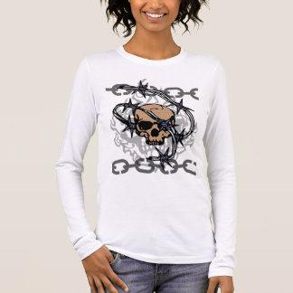 Bobwire Chained Skull Shirt