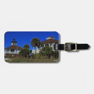 Boca Grande Lighthouse I Luggage Tag