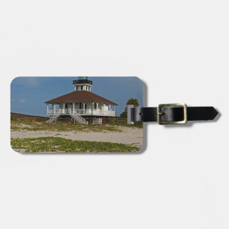 Boca Grande Railroad Vines Luggage Tag