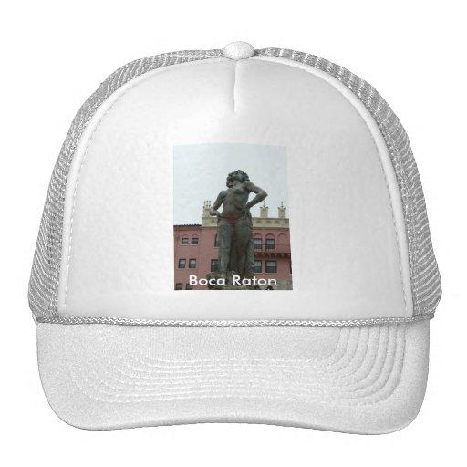 Boca Resort Statue Trucker Hats