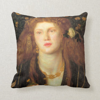 Bocca Baciata (1859) Throw Pillow