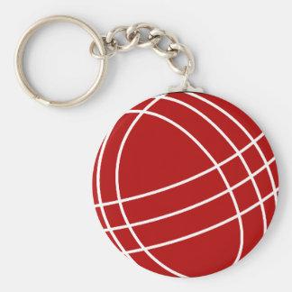 Bocce ball keychain