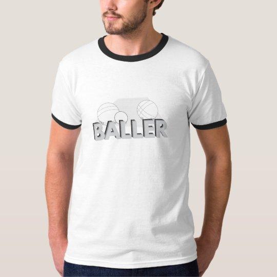 """Bocce """"Baller"""" Ringer Tee"""