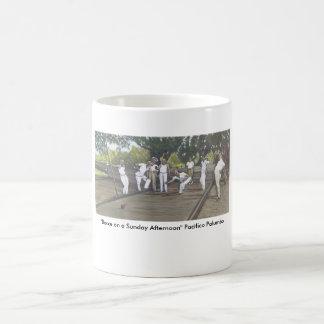 """Bocce on a Sunday Afternoon"" Coffee Mug"
