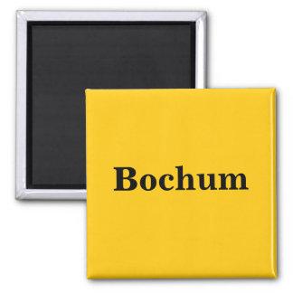 Bochum magnet sign gold Gleb