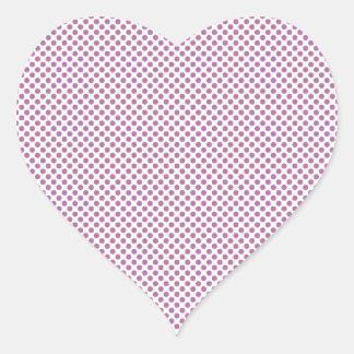 Bodacious Polka Dots Heart Sticker
