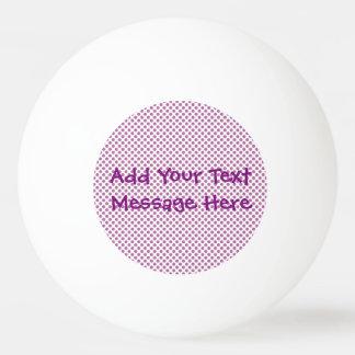 Bodacious Polka Dots Ping Pong Ball
