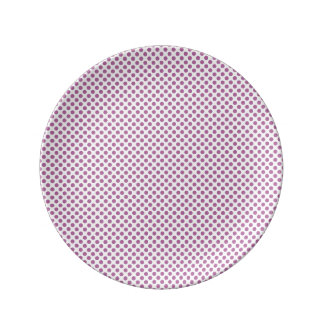 Bodacious Polka Dots Porcelain Plates