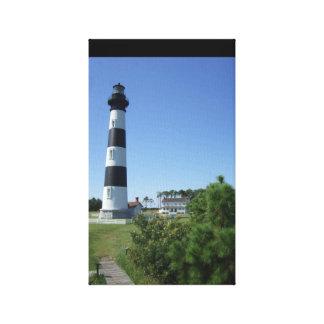 Bode Lighthouse Canvas Print
