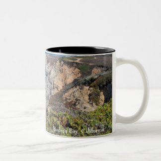 Bodega Head Rugged Coast and Trail Two-Tone Coffee Mug