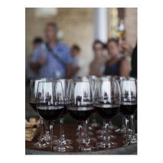Bodega Marques de Riscal winery, wine tasting Postcard