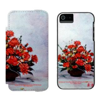 Bodegón of flowers/Still life of flowers Incipio Watson™ iPhone 5 Wallet Case
