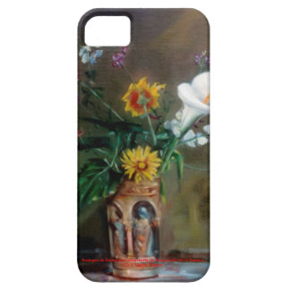 Bodegón of flowers/Still life of flowers iPhone 5 Cover