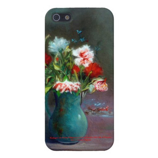 Bodegón of flowers/Still life of flowers iPhone 5 Covers