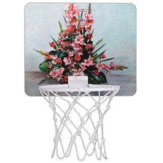 Bodegón of flowers/Still life of flowers Mini Basketball Hoop
