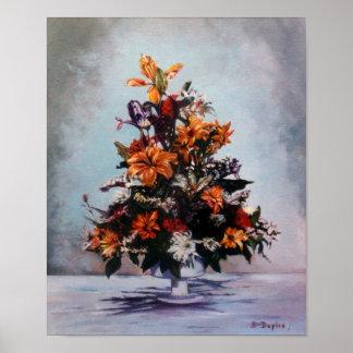 Bodegón of flowers/Still life of flowers