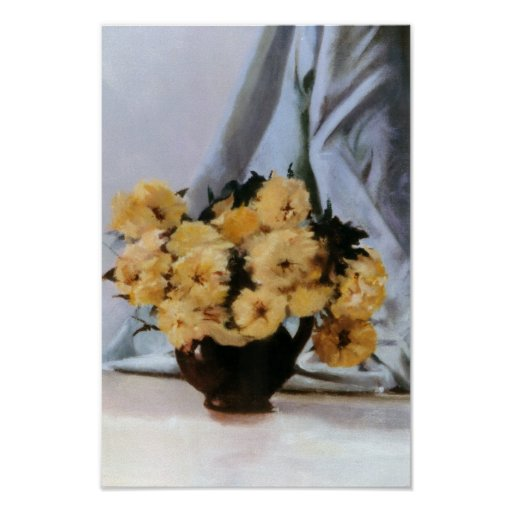 Bodegón of flowers/Still life of flowers Print